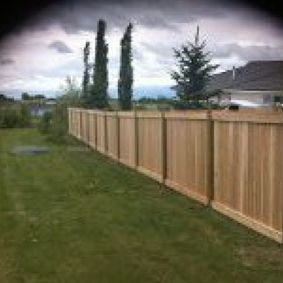 Professional Fencing 2000 Ltd Wood Fence